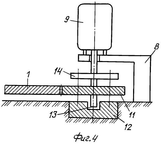 Устройство передачи механической энергии рабочему колесу электромеханической установки