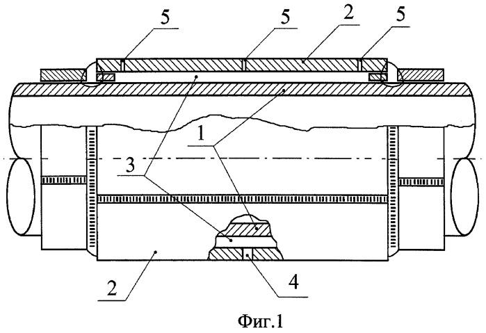 Способ заполнения веществом подмуфтового пространства (технология предприятия киатон)