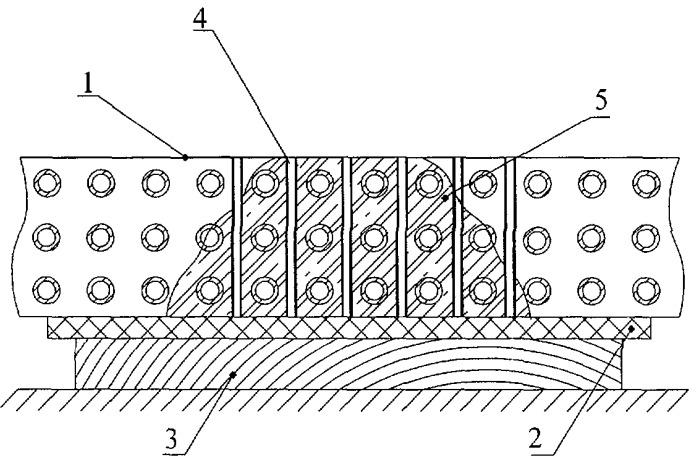 Способ герметизации места течи сердцевины радиатора охлаждения