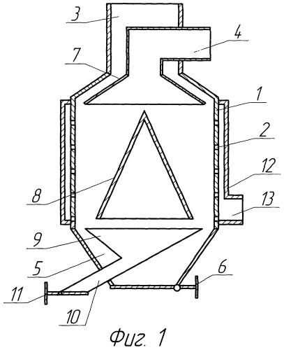 Воздушный трехпродуктовый классификатор