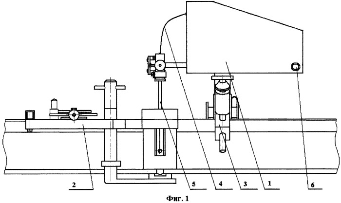 Аппарат для автоматической электродуговой сварки рельсов