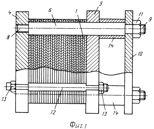 Способ изготовления разборного пластинчатого теплообменника