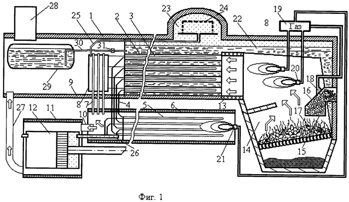 Способ работы парового локомотива на твердом топливе