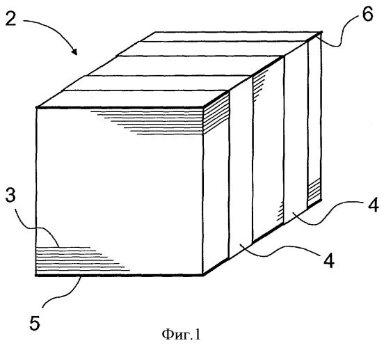 Устройство для упаковки листового материала, например бумаги