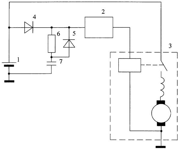 Система пуска двигателя внутреннего сгорания