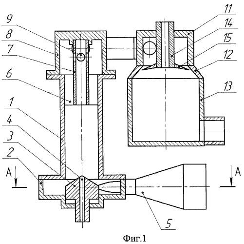 Двухфазный вихревой теплогенератор
