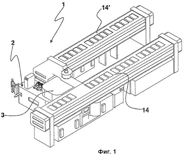 Система и способ нанесения покрытия на емкости