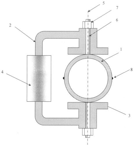 Электромагнитный расходомер жидких металлов