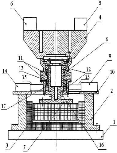 Стенд для испытания изделий на комбинированное воздействие вибрационных и линейных ускорений