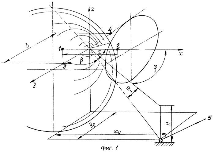 Способ определения координат посредством гидроакустической навигационной системы