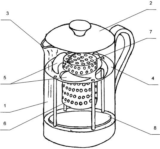 Устройство для заваривания или приготовления настоя или напитка