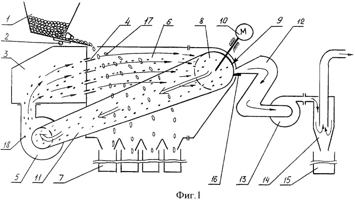 Способ сепарации сыпучей смеси в текучей среде и устройство для его осуществления