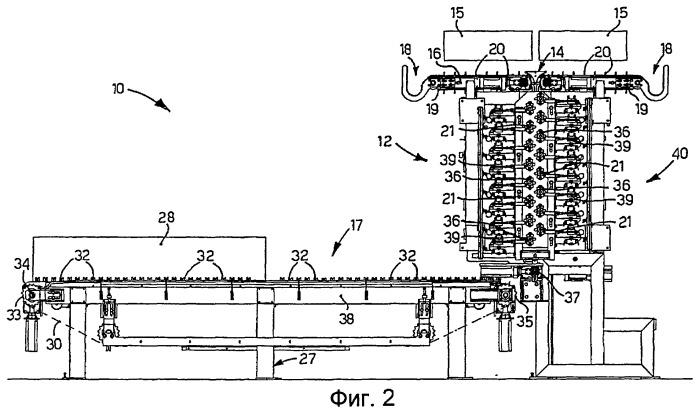 Устройство накопления и подачи для металлических прутков