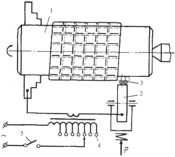 Способ получения покрытия на поверхности детали электроконтактной приваркой