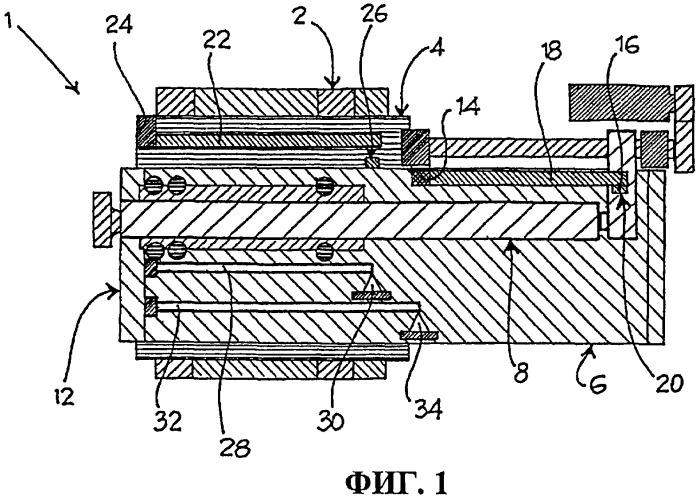 Подвижная группа станка, содержащая движущийся суппорт, шпиндельный узел и шпиндель, выполненная с возможностью обнаружения тепловой деформации шпиндельного узла