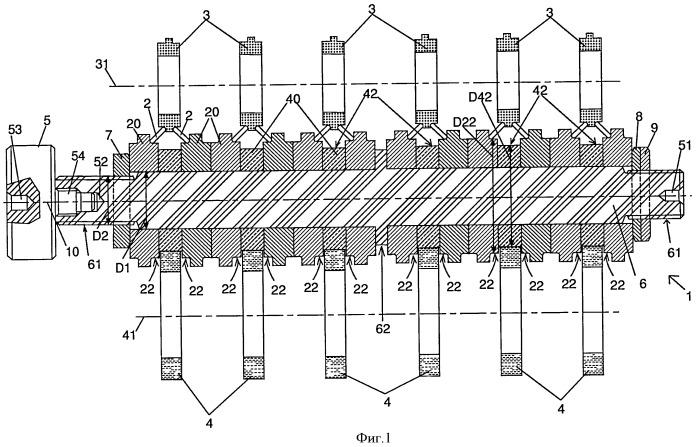Устройство тестирования инструментов для механической обработки коленчатого вала