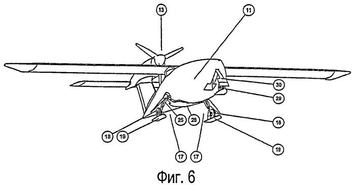 Моторный самолет с комбинированной гидродинамической и аэродинамической конструкцией для взлета и посадки на воде, грунте или снегу