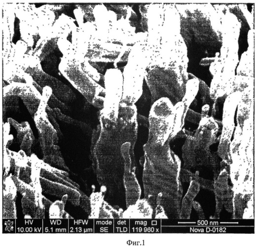 Способ создания наноструктур на основе нанотрубок