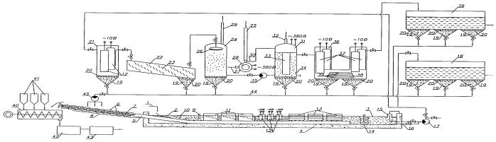 Комплексный способ безреагентной очистки сточных вод и брикетирования ила