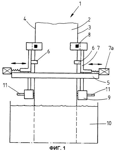 Устройство и способ для стабилизации кромки полосы
