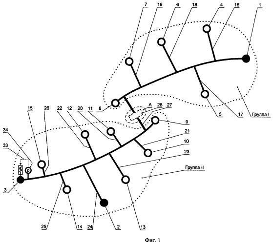 Система закачки подземных вод в нефтяной пласт