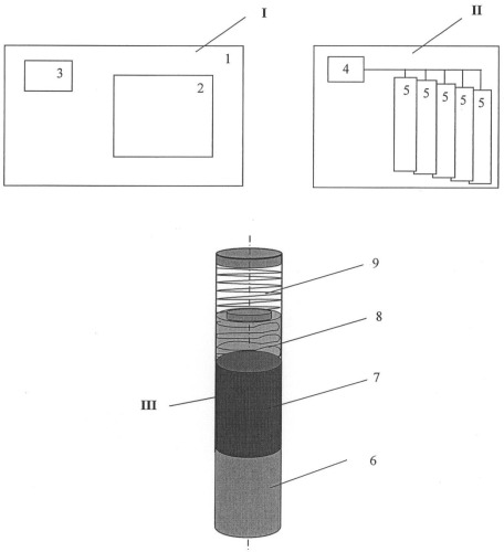 Устройство для радиометрического наблюдения, индикации и дезактивации местности