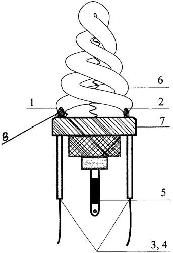Газоразрядная высокоинтенсивная лампа