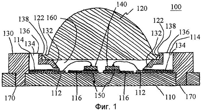 Модуль осветительного устройства