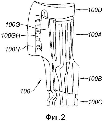 Способ изготовления керамических сердечников для лопаток газотурбинного двигателя