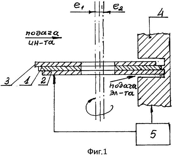 Сборный электрод-инструмент для электроалмазной резки