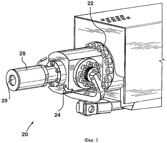 Поворотный клапан в сборе для инжекционного сопла