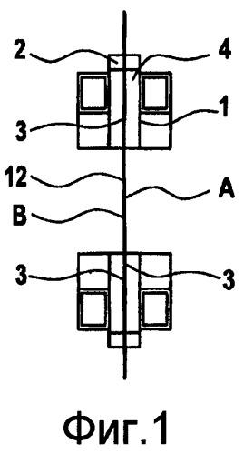 Устройство для упаковывания в покрытие из листового материала со средствами для создания боковых складок