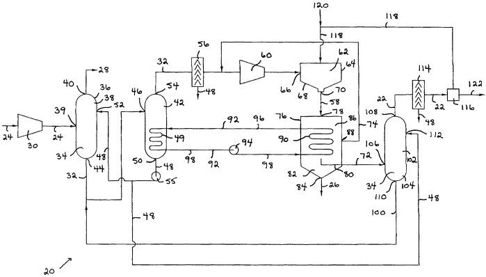 Способ и устройство для преобразования сероводорода в водород и серу