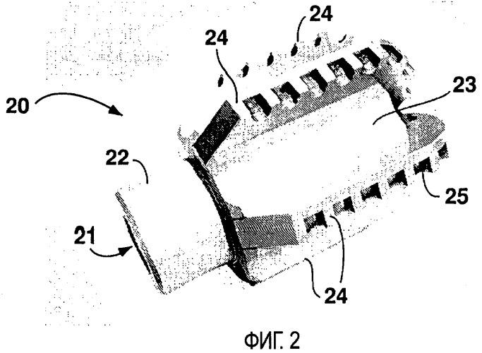 Модульное буровое долото с неподвижными режущими элементами, корпус данного модульного бурового долота и способы их изготовления