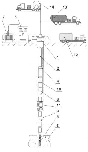 Способ электрохимической обработки нагнетательных скважин