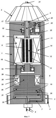 Высоковольтный скважинный генератор