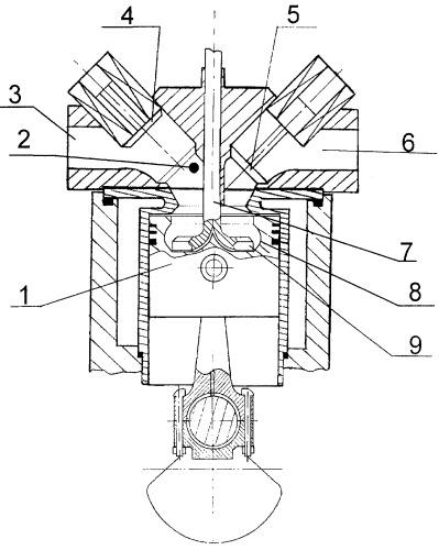 Способ организации смесеобразования в двигателе внутреннего сгорания