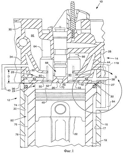 Головка цилиндра (варианты) и двигатель