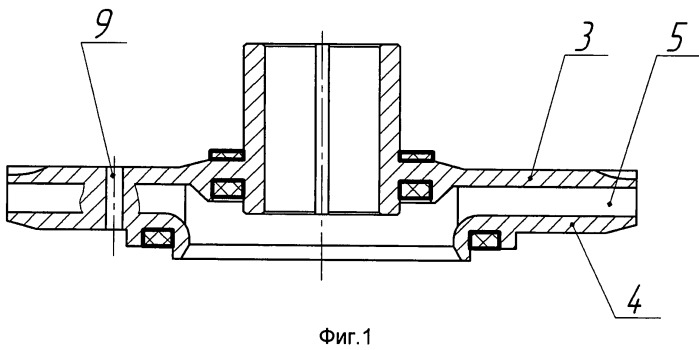 Ступень многоступенчатого центробежного насоса