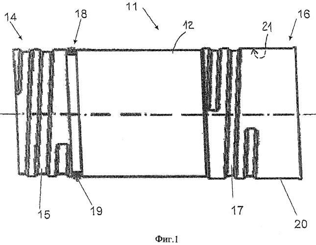 Сборный трубопровод, имеющий множество модульных трубчатых каналов