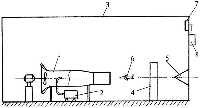 Аэрохолодильная установка для исследования процессов обледенения объектов