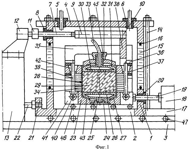 Способ испытания грунта на срез с одновременным определением порового давления и устройство для его осуществления