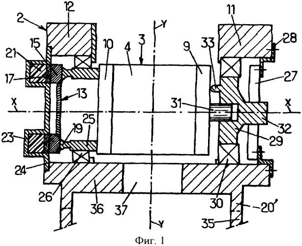 Двухосная головка для ориентации с пьезоэлектрическим приводом