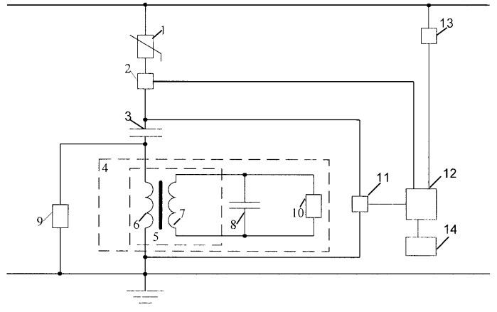 Устройство защиты от перенапряжений с регистрацией количества срабатываний и контролем параметров в сети питания потребителей постоянного тока