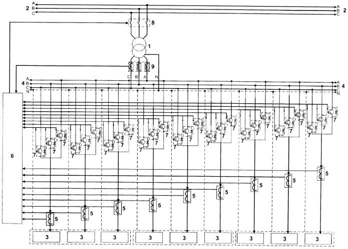 Способ повышения надежности работы понижающей трансформаторной подстанции в распределительных сетях 6( 10 )/0,4 кв