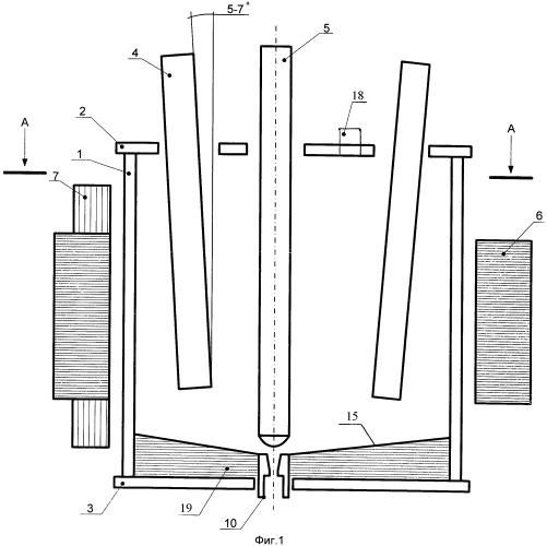 Электромагнитный технологический реактор