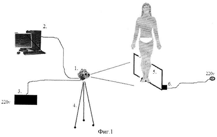 Тепловизионный комплекс для визуализации тепловых полей и измерения температур пациентов с дистальной гипотермией