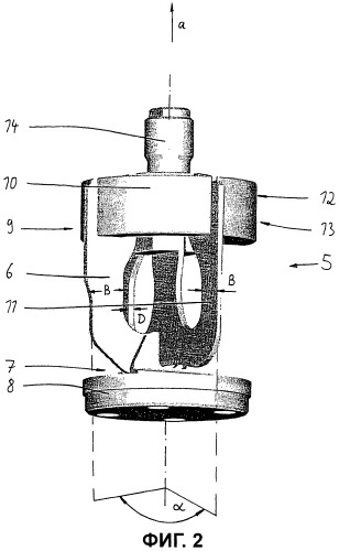 Позиционный датчик для измерения длины установочного хода цилиндро-поршневой группы