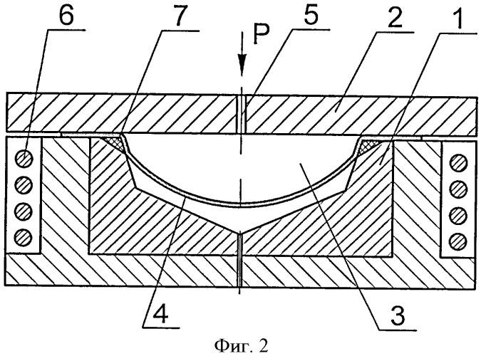 Способ формовки листовой заготовки в режиме сверхпластичности и устройство для его реализации