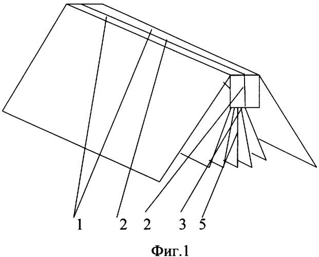 Корешок разборной книги со вставкой листов со стороны корешка
